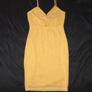 G by Guess yellow dress